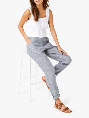 White Stuff Maison Linen Trousers