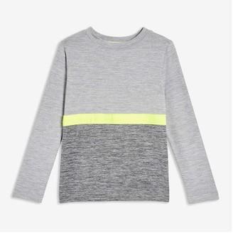 Joe Fresh Toddler Boys' Active Long Sleeve Tee, Grey (Size 5)