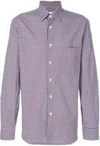 Brioni checked shirt - men - Cotton - M