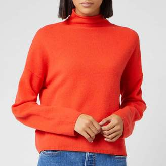 Whistles Women's Soft Roll Neck Wool Sweater