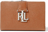 Ralph Lauren Pebbled Leather Compact Wallet
