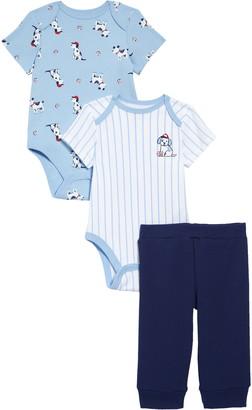 Little Me Baseball Bodysuits & Pants Set