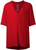 Rick Owens v-neck T-shirt