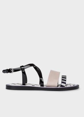 Paul Smith Women's Black Patent 'Eunice' Sandals