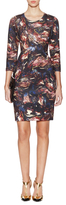 Hunter Bell Addison Fitted Printed Dress