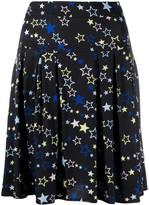 Love Moschino star-print pleated mini skirt