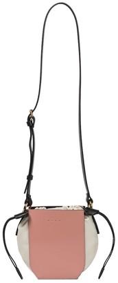 Marni Gusset Mini leather shoulder bag