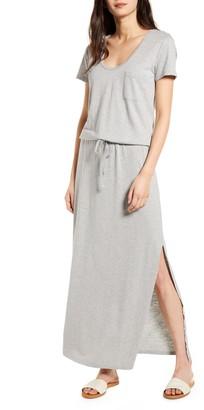 Caslon Cotton Blend Maxi Dress