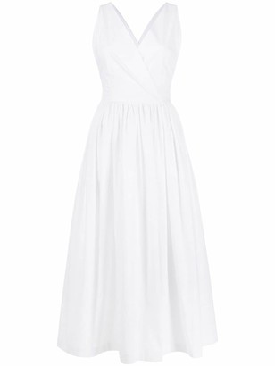 Erika Cavallini Sleeveless Midi Dress