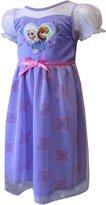 Disney Big Girls' Frozen Sisters Dressy Gown