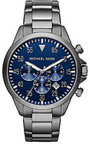 Michael Kors Men's Gage Gunmetal Chronograph Watch