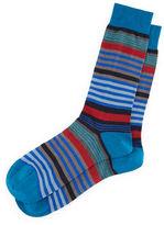 Pantherella Searle Multi-Striped Dress Socks