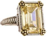 Judith Ripka Canary Crystal Ring