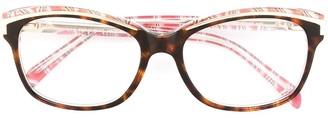 Emilio Pucci Square Frame Glasses