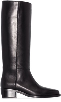 LEGRES Leather Riding Boots