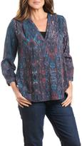 Casual Studio Colorful Teal Blouse
