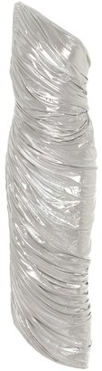 Norma Kamali Diana one-shoulder midi dress