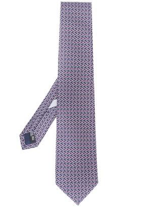 Salvatore Ferragamo Water Buoy Patterned Tie