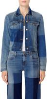 J Brand Harlow Jacket in Blue Shadow