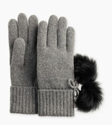 UGG Women's Ribbed Cashmere Glove with Poms
