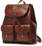 Ghurka Blazer No. 278 Leather Backpack, Vintage Chestnut