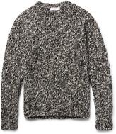 Sandro - Mélange Wool-blend Sweater