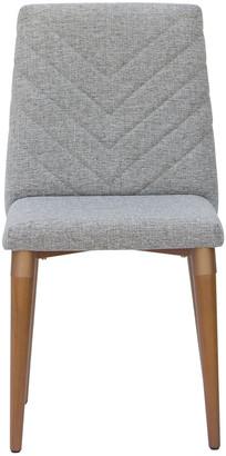 Manhattan Comfort Utopia Chevron Dining Chair