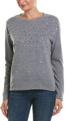 Monrow Women's Sweatshirt with Studs