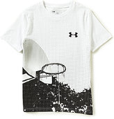 Under Armour Big Boys 8-20 Basketball Photoreal Short-Sleeve Graphic Tee