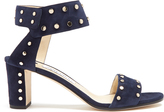Jimmy Choo Veto 65mm studded suede sandals
