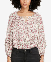 Denim & Supply Ralph Lauren Floral-Print Blouse