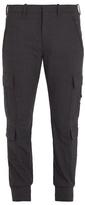 Neil Barrett Skinny-leg cargo trousers