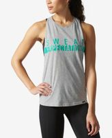 adidas ClimaLite Graphic Racerback Tank Top