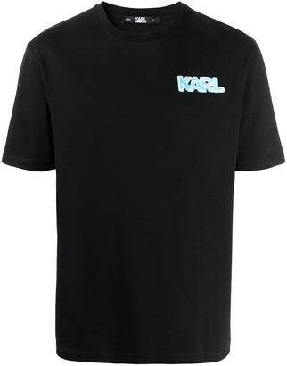 Karl Lagerfeld Paris Balloon logo print T-shirt