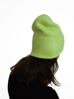 White + Warren Cashmere Plush Rib Beanie