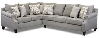 """Canora Grey Thurman 124"""" Left Hand Facing Sectional"""