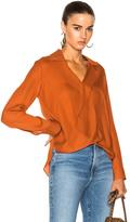 L'Agence Rita Blouse in Orange.