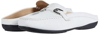 Geox Annytah Moc 6 (White) Women's Shoes