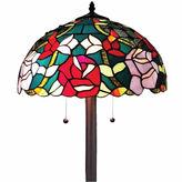 AMORA Amora Lighting AM084FL16 Tiffany Style Roses FloorLamp 61 in