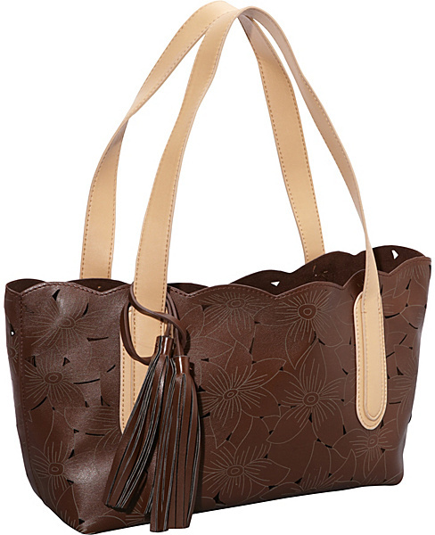 Jesselli Couture BUCO Flower Cut Laser Small Tote