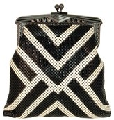 Whiting & Davis 'Heritage - Poiret' Mesh Clutch - Black