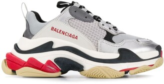 Balenciaga Triple S logo embroidered sneakers
