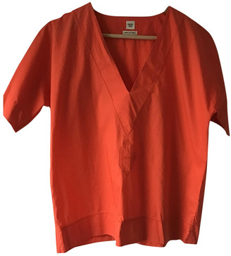 Hermes Orange Cotton Tops