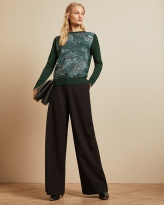 Ted Baker ZOII Printed sweater