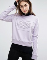 Cheap Monday Block Logo Sweat