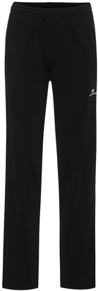 Balenciaga Cotton-blend jersey trackpants
