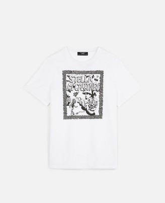 Stella McCartney Carbot Organic Cotton T-shirt, Unisex