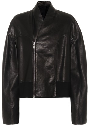 Rick Owens Tec leather jacket