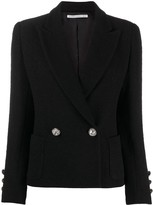 Alessandra Rich fitted double-breasted blazer