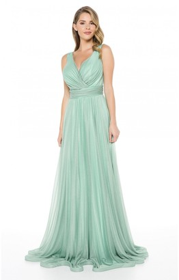 Ladyness Ladyness Mint Maxi Bridesmaid Dress